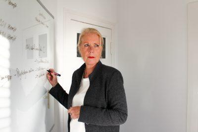 Inhaberin Babette Halbe-Haenschke